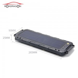 4G waterproof solar GPS tracker Vehicle truck rechargable LLS-100TS