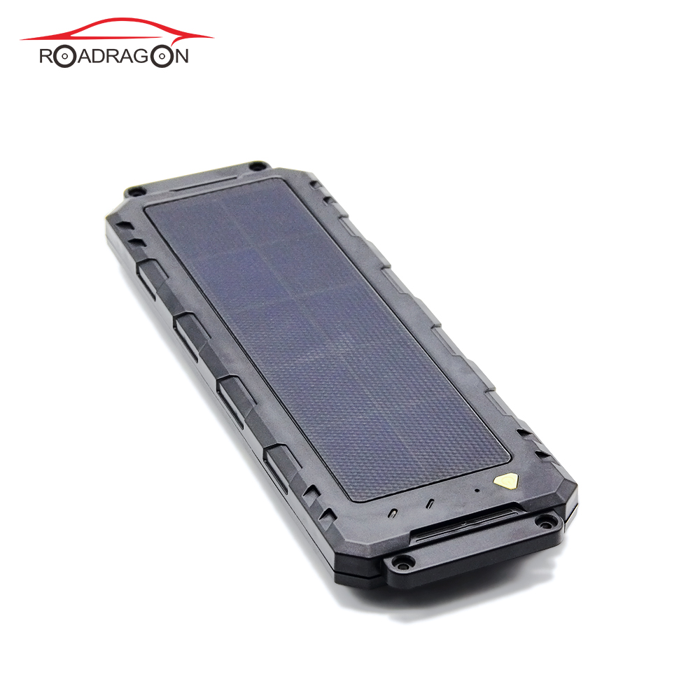 4G waterproof solar GPS tracker Vehicle truck rechargable LLS-100TS Featured Image