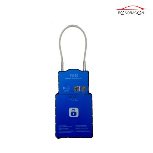 waterproof 3G tracking gps location container lock seal smart padlock