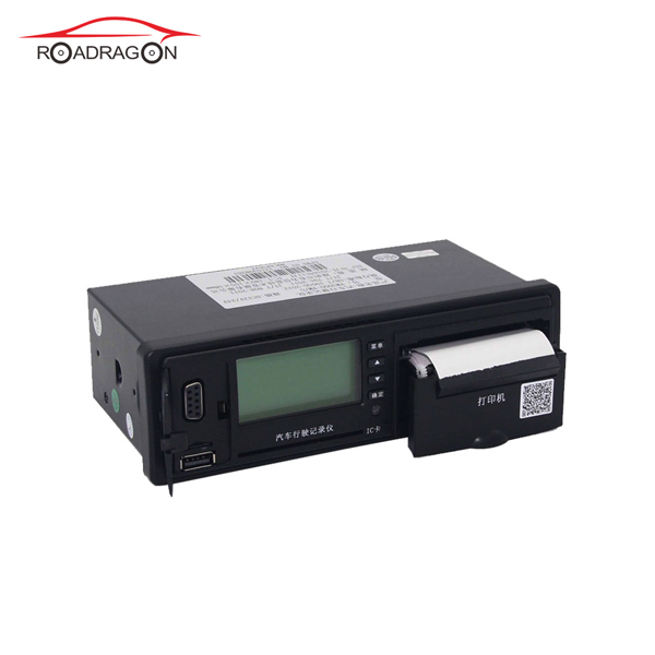 Bus truck GPS tachograph with driving record print report G-V301 Featured Image