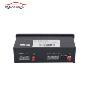Bus truck GPS tachograph with driving record print report G-V301