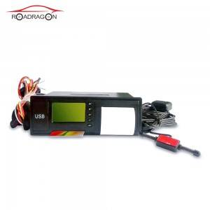 Fast delivery China 2021 Digital Mini Car tachograph with printer Schedule