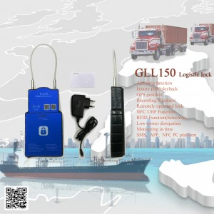 3G container gps LOCK GLL-150,Waterproof gps secur padlock