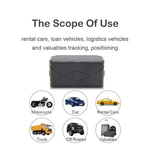 3 Years long standby asset gps tracking device LTS-3YS