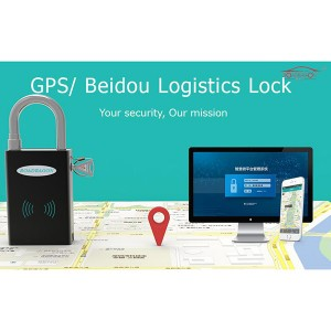 Good padlock gps function with security and monitoring function
