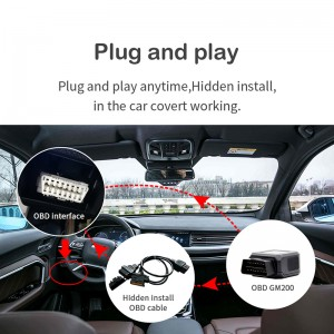 OBD2Can Bus Car car private protocol to read fuel& mileage and others