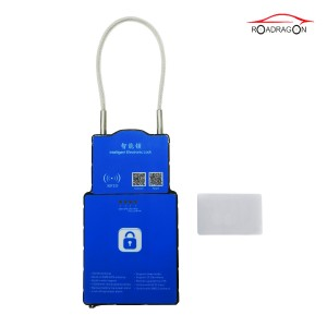 Gps Container Tracking Intelligent Padlock Gsm E-seal Vehicle Lock