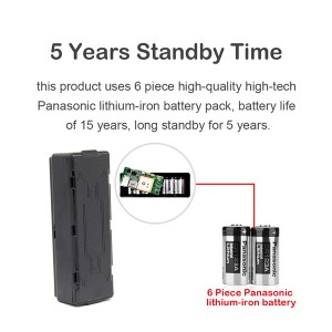 5 Years 6 Panasonic strong battery vehicle insurance asset tracker LTS-3YD