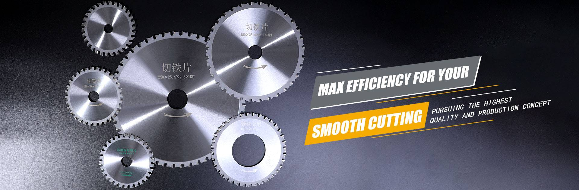 Max efficiency for your smooth cutting