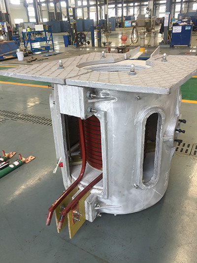 Good Quality Aluminium Melting Furnace - Induction Melting Furnace  Aluminium Shell Melting Furnace – Rongtai