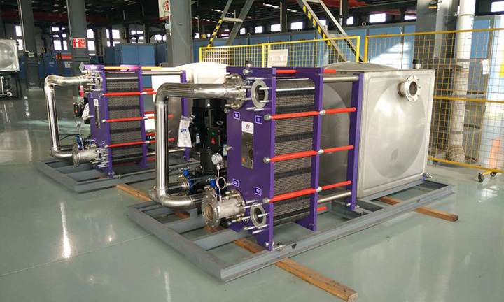 Cooling system-Plate Type Heat Exchanger Featured Image