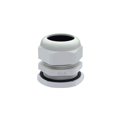 Plastic cable gland M-P type