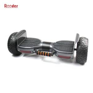 2 wheel hoverboard r808 with off rod all terrain smart wheels lithium battery auto balance pull rod dual bluetooth speaker