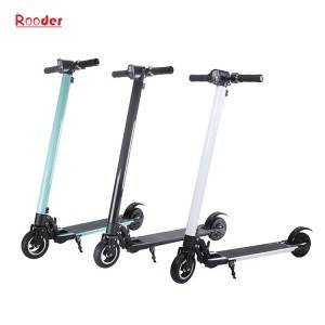 two wheel standing electric scooter r803c with lithium battery 5.5 inch motor foldable aluminum alloy body
