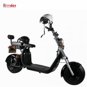 COC approval citycoco 1500w electric scooter with seat from China