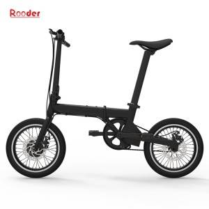 china electric bike r809 with 16 inch tires aluminum alloy frame and removable lithium battery 14kgs only