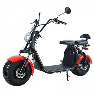 EEC big wheel electric scooter citycoco with removable battery