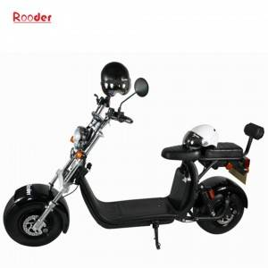 EEC & COC  harley citycoco electric scooter with two removable battery