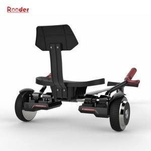 self-balancing electric hoverkart with 6.5 inch wheel led lights and bluetooth