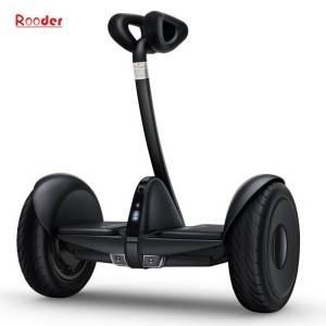 two wheels self balancing scooter r803m with 10 inch tires lithium battery front and rear led light app control