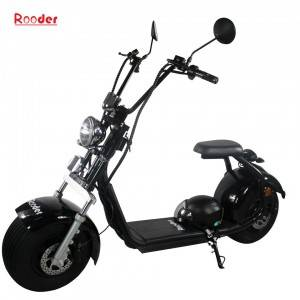 EEC approval moto citycoco electric scooter with COC document VIN from China