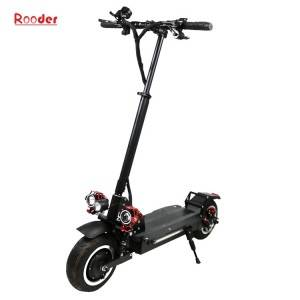 New 2400W folding kick electric scooter with two motor