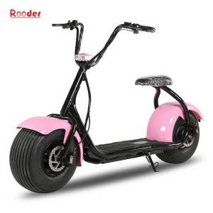 2018 city coco harley electric scooter with 48v 60v 72v lithium battery and 1000w 1200w 1500w motor wheel big tire from alibaba gold supplier rooder technology