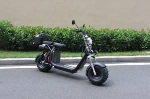 Newest Big wheel citycoco electric scooter with seat for adult