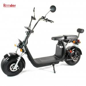 EEC approval citycoco harley electric scooter with two removable battery