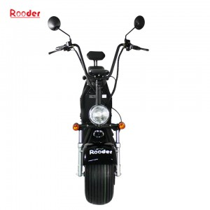 Rooder COC approval big wheel electric scooter with removable battery