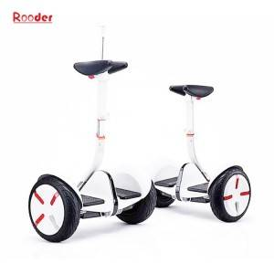 2 wheel electric self balancing scooter r803n with adjustable handlebar 10inch tires lithium battery