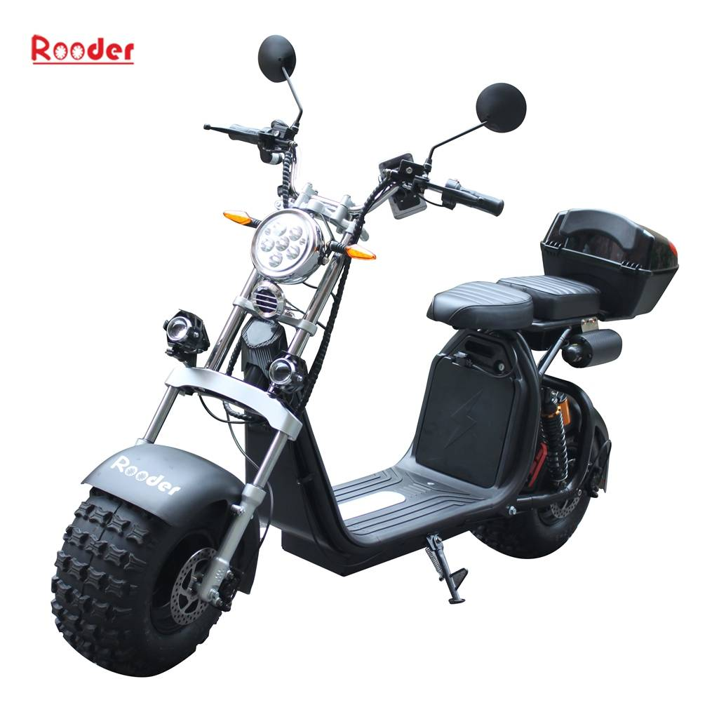 Newest Big wheel citycoco electric scooter with seat for adult Featured Image