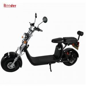 Rooder 1500W COC approval citycoco electric scooter for adults