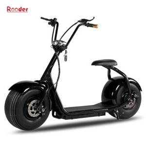 citycoco harley electric scooter r804 with CE 1000w 60v lithium battery and 2 big wheel fat tire for adult from China cheap city coco harley electric motorcycle bike Rooder factory