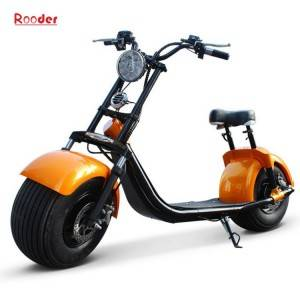 2 wheel adult electric scooter r804b with ce fcc rohs certification front shock absorber fat tire 1000w motor 48v 60v 72v lithium battery from harley city coco manufacturer