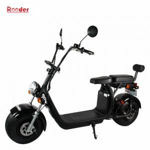 Rooder Harley coco city scooter with removable battery COC approval