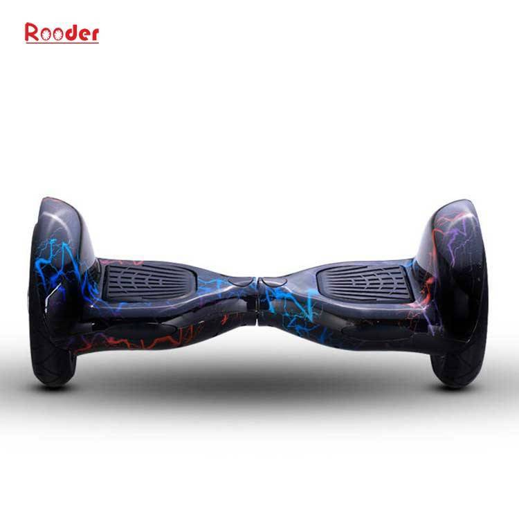 Rooder import smart balance electric scooter with taotao board gyroscope plastic shell 10 inch wheel samsung battery bluetooth remote supplier factory exporter (5)