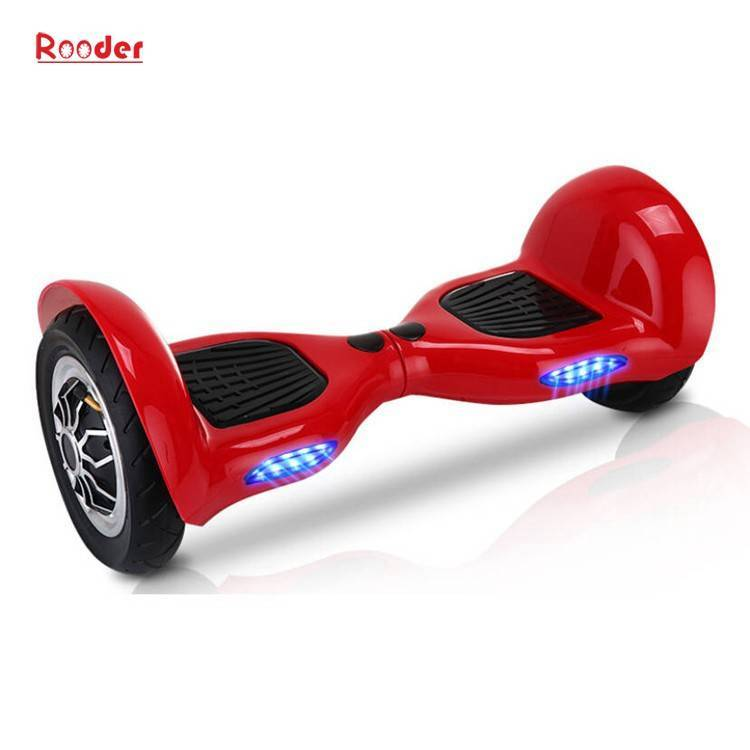 Rooder import smart balance electric scooter with taotao board gyroscope plastic shell 10 inch wheel samsung battery bluetooth remote supplier factory exporter (10)