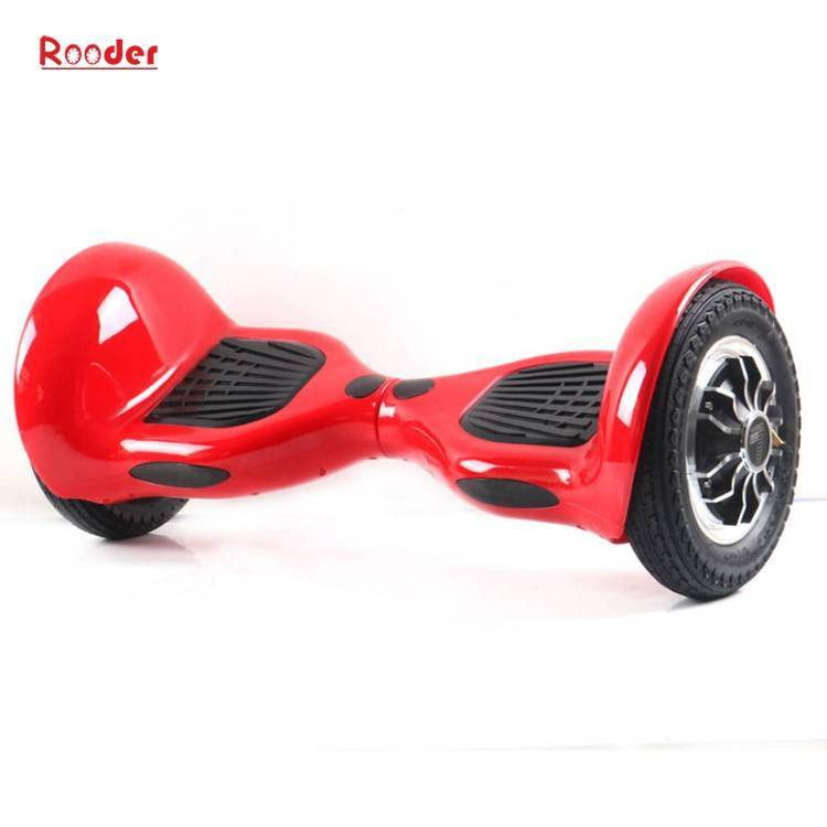 Rooder import smart balance electric scooter with taotao board gyroscope plastic shell 10 inch wheel samsung battery bluetooth remote supplier factory exporter (7)