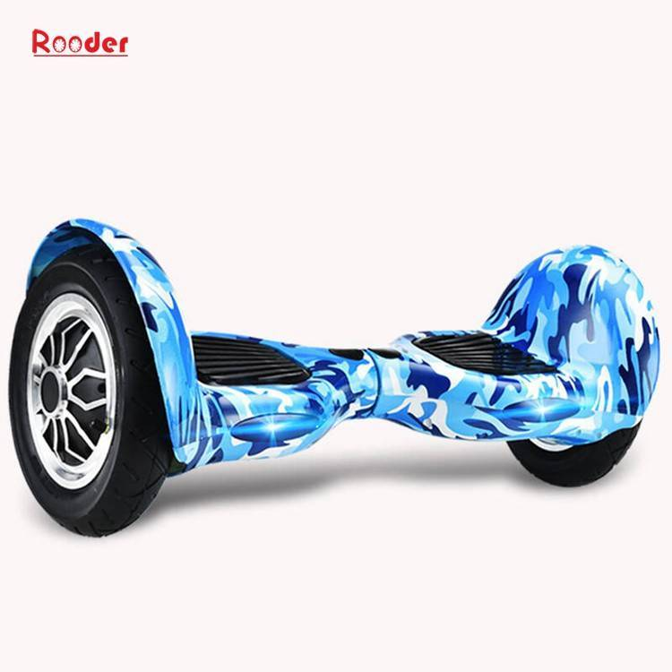 Rooder import smart balance electric scooter with taotao board gyroscope plastic shell 10 inch wheel samsung battery bluetooth remote supplier factory exporter (21)