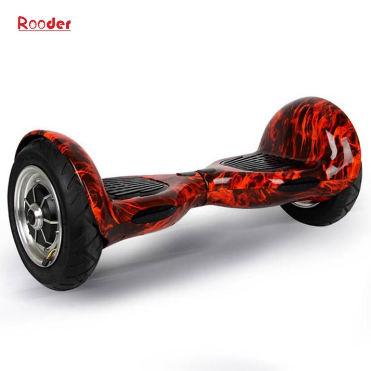 Rooder import smart balance electric scooter with taotao board gyroscope plastic shell 10 inch wheel samsung battery bluetooth remote supplier factory exporter (27)