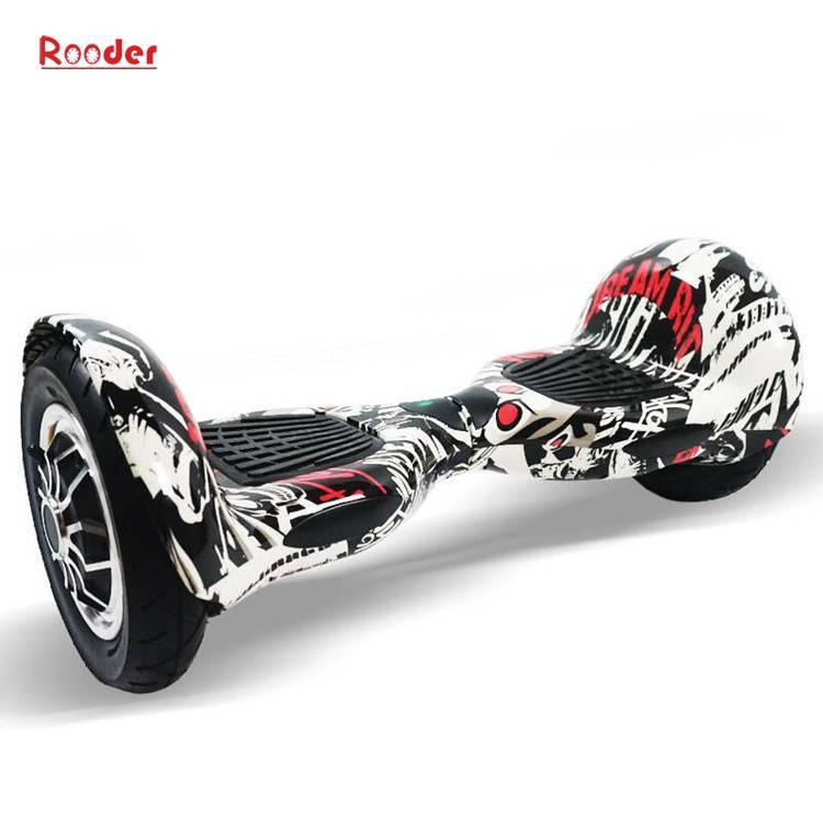 Rooder import smart balance electric scooter with taotao board gyroscope plastic shell 10 inch wheel samsung battery bluetooth remote supplier factory exporter (24)