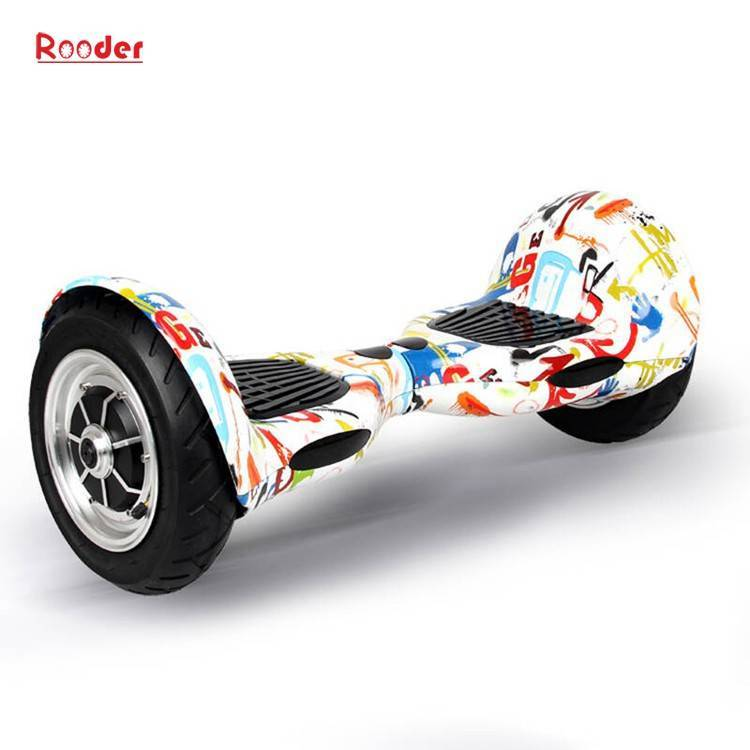 Rooder import smart balance electric scooter with taotao board gyroscope plastic shell 10 inch wheel samsung battery bluetooth remote supplier factory exporter (31)