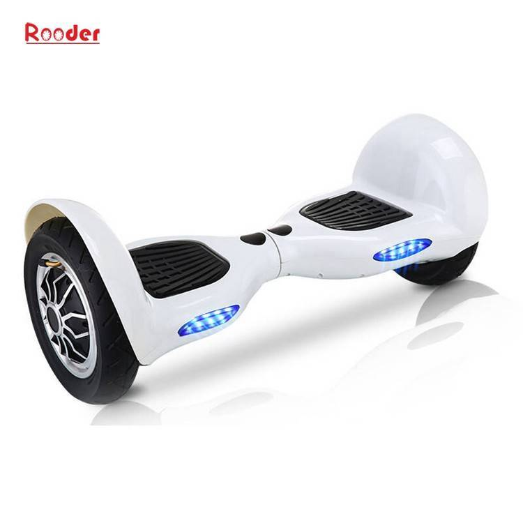 Rooder import smart balance electric scooter with taotao board gyroscope plastic shell 10 inch wheel samsung battery bluetooth remote supplier factory exporter (11)