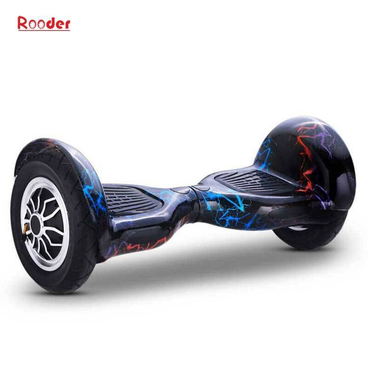 Rooder import smart balance electric scooter with taotao board gyroscope plastic shell 10 inch wheel samsung battery bluetooth remote supplier factory exporter (4)