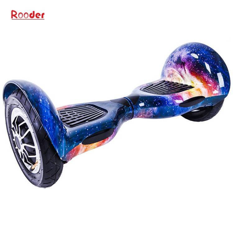 Rooder import smart balance electric scooter with taotao board gyroscope plastic shell 10 inch wheel samsung battery bluetooth remote supplier factory exporter (1)