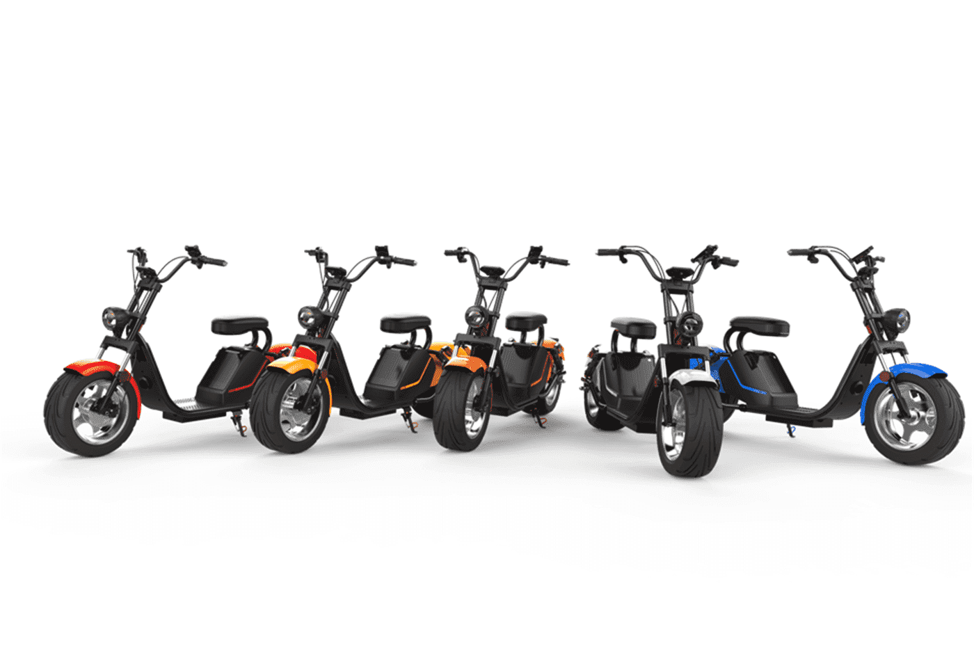 Caigiees Citycoco Harley big wheel electric scooter with EEC approved from Rooder factory supplier exhibition March Expo alibaba Super September Purchasing (1)