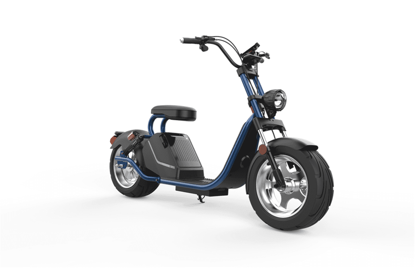Caigiees Citycoco Harley big wheel electric scooter with EEC approved from Rooder factory supplier exhibition March Expo alibaba Super September Purchasing (2)