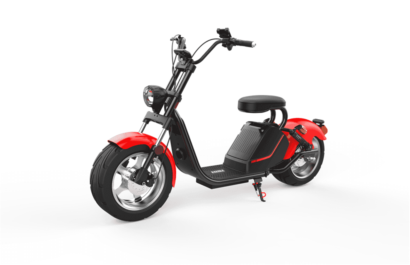 Caigiees Citycoco Harley big wheel electric scooter with EEC approved from Rooder factory supplier exhibition March Expo alibaba Super September Purchasing (3)