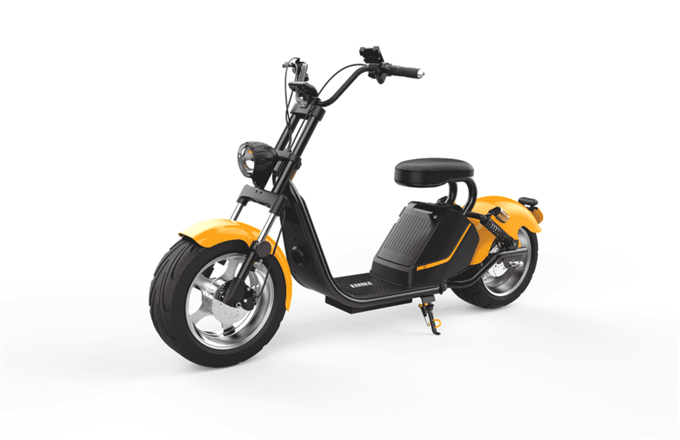 Caigiees Citycoco Harley big wheel electric scooter with EEC approved from Rooder factory supplier exhibition March Expo alibaba Super September Purchasing (4)